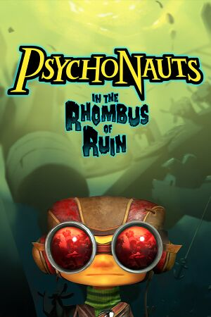 Psychonauts in the Rhombus of Ruin cover