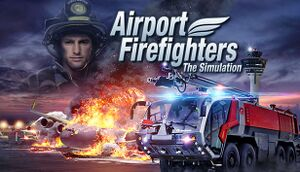 Airport Firefighters - The Simulation cover