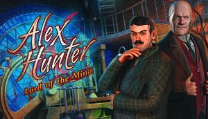 Alex Hunter: Lord of the Mind cover