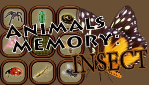 Animals Memory: Insect cover