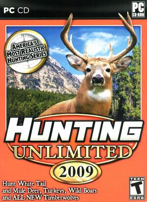 Hunting Unlimited 2009 cover