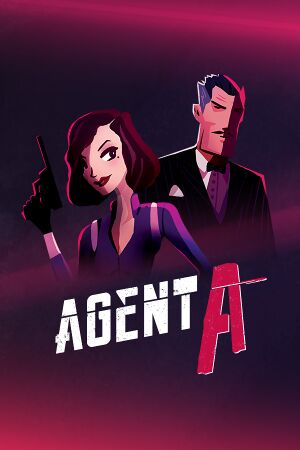Agent A: A Puzzle in Disguise cover
