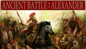 Ancient Battle: Alexander cover