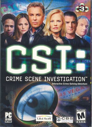 CSI: Crime Scene Investigation cover