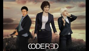 CodeRed: Agent Sarah's Story - Day One cover