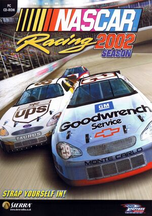 NASCAR Racing 2002 Season cover