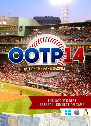 Out of the Park Baseball 14 cover