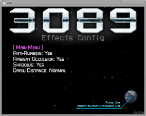 Effects config.