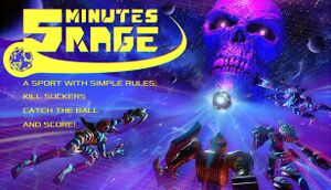 5 Minutes Rage cover