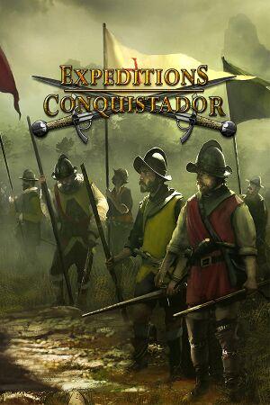 Expeditions: Conquistador cover