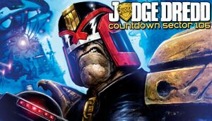 Judge Dredd: Countdown Sector 106 cover