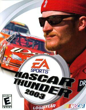 NASCAR Thunder 2003 cover