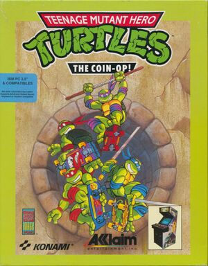 Teenage Mutant Hero Turtles: The Coin-Op! cover