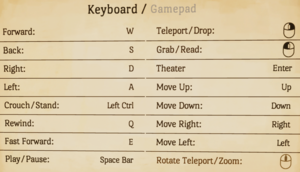 In-game keyboard and mouse remapping.