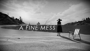 A Fine Mess cover