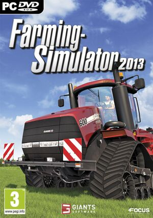 Farming Simulator 2013 cover