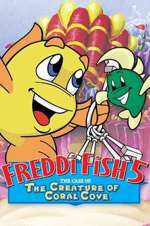 Freddi Fish 5: The Case of the Creature of Coral Cove cover