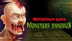 Monsters sandbox cover
