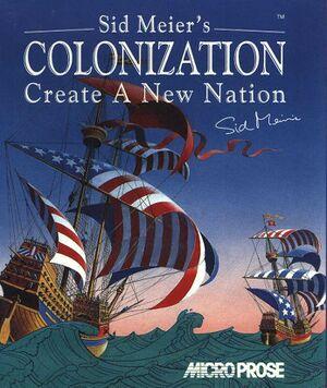 Sid Meier's Colonization cover