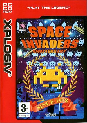 Space Invaders Anniversary cover
