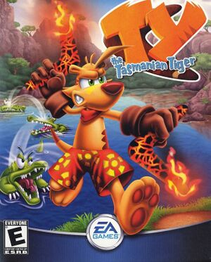 TY the Tasmanian Tiger cover