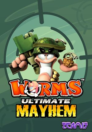 Worms Ultimate Mayhem cover