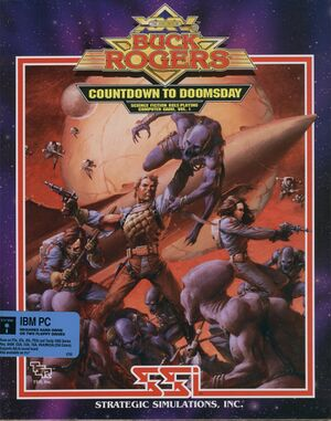 Buck Rogers: Countdown to Doomsday cover