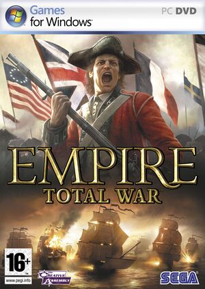 Empire: Total War cover