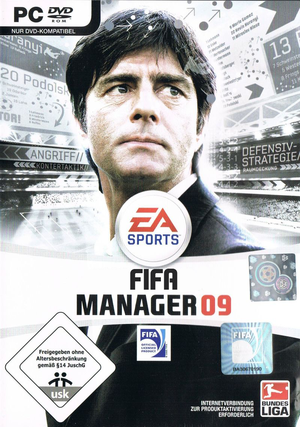 FIFA Manager 09 cover