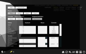 In-game keybindings settings.