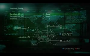 In-game gamepad settings (for Door Gunner/Gunship).