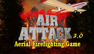 Air Attack 3.0, Aerial Firefighting Game cover