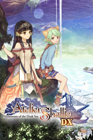 Atelier Shallie Alchemists of the Dusk Sea DX cover.png