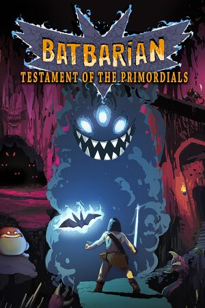 Batbarian: Testament of the Primordials cover