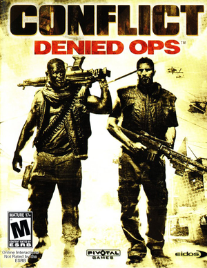 Conflict: Denied Ops cover