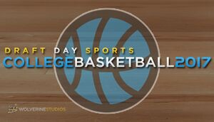 Draft Day Sports: College Basketball 2017 cover