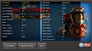 Key rebinding in launcher.