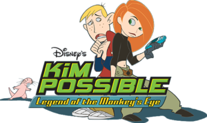 Kim Possible: Legend of the Monkey's Eye cover