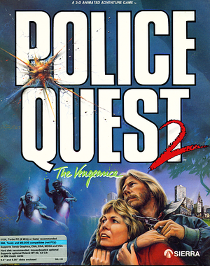 Police Quest II: The Vengeance cover