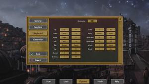 Keyboard settings (gameplay).