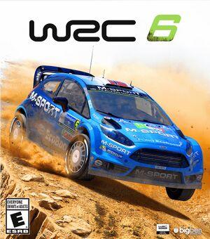 WRC 6: FIA World Rally Championship cover