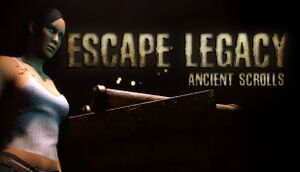 Escape Legacy: Ancient Scrolls cover