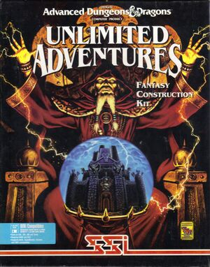 Forgotten Realms: Unlimited Adventures cover