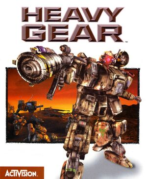 Heavy Gear cover