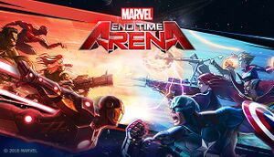 Marvel End Time Arena cover