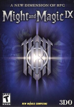 Might and Magic IX cover