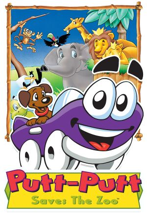 Putt-Putt Saves the Zoo cover