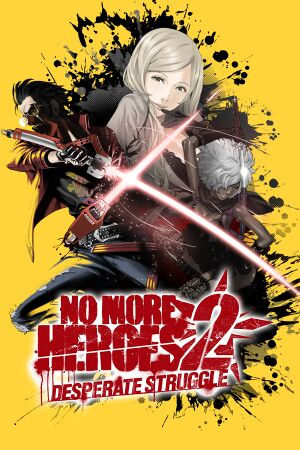 No More Heroes 2: Desperate Struggle cover