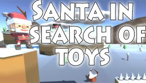 Santa in search of toys cover