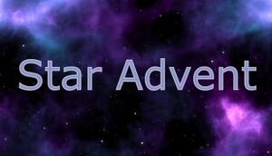 Star Advent cover